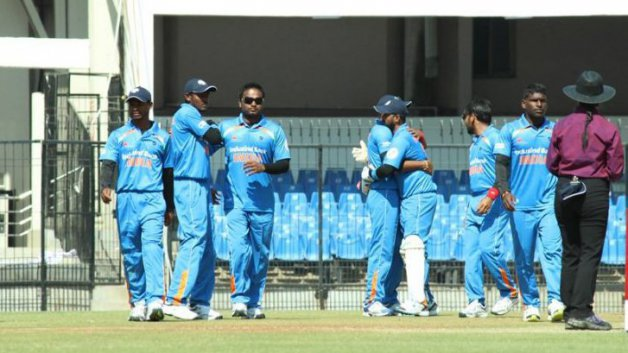 India beat Australia by 128 runs in T20 World Cup Cricket for blind