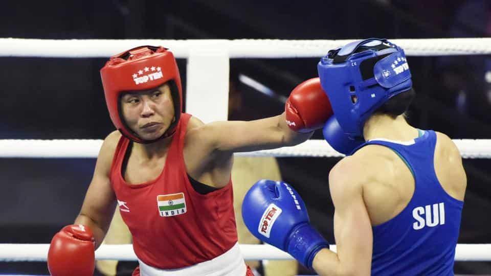 L Sarita Devi give India flying start in AIBA women