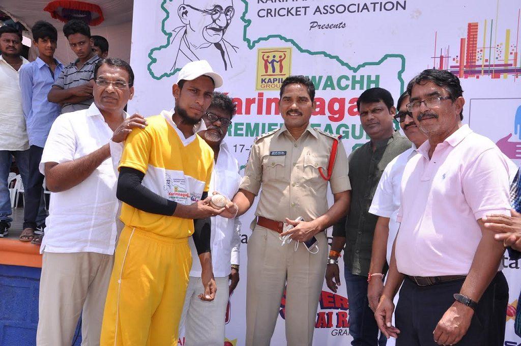Srikaran drives his team Swetha Riders to victory