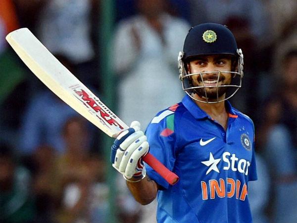 Virat Kohli breaks AB de Villiers record , completes 8000 ODI runs