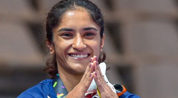 Vinesh Phogat wins gold at Yasar Dogu International