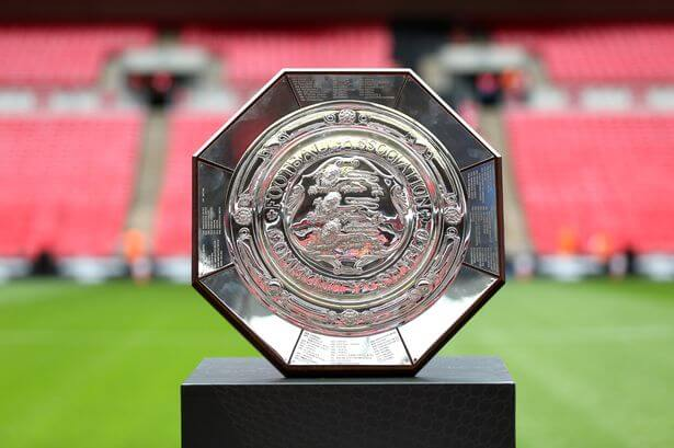 Community Shield to kick off at Wembley on August 29