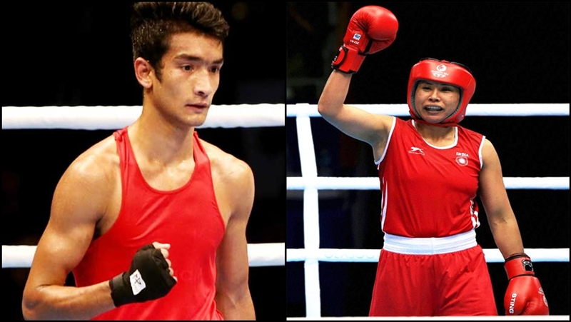 Shiva Thapa, L Sarita Devi enter semis of Asian Boxing Championships