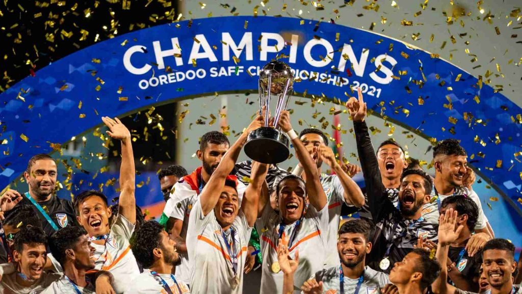 India clinches SAFF Championship trophy for 8th time