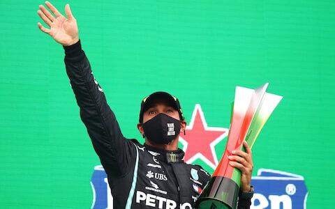 Formula One champion Lewis Hamilton wins Portuguese GP