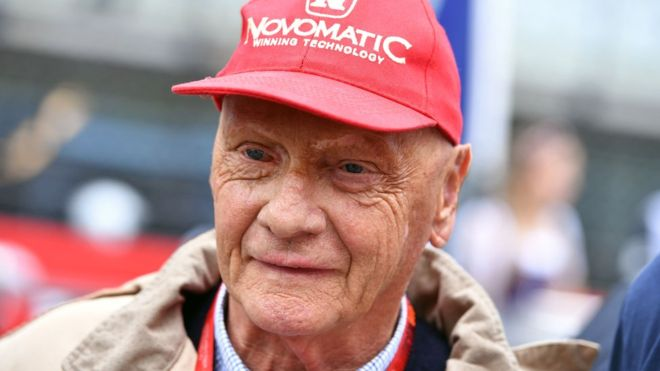 Australian F1 legend Niki Lauda passes away