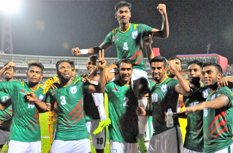 Bangladesh defeat Pakistan 1-0 in their 2nd group A match of SAFF Championship