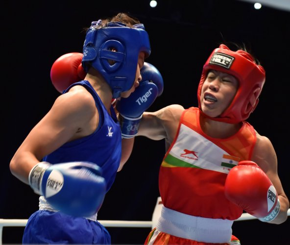 Mary Kom enters semifinals of World Boxing