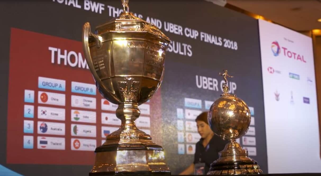 Thomas Uber Cup likely to be postponed