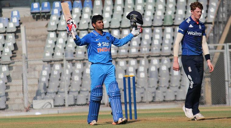 India U-19 beat England by seven wickets