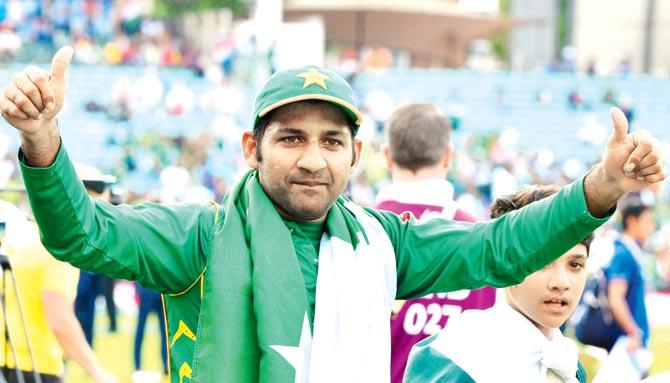Sarfraz appointed Pakistan