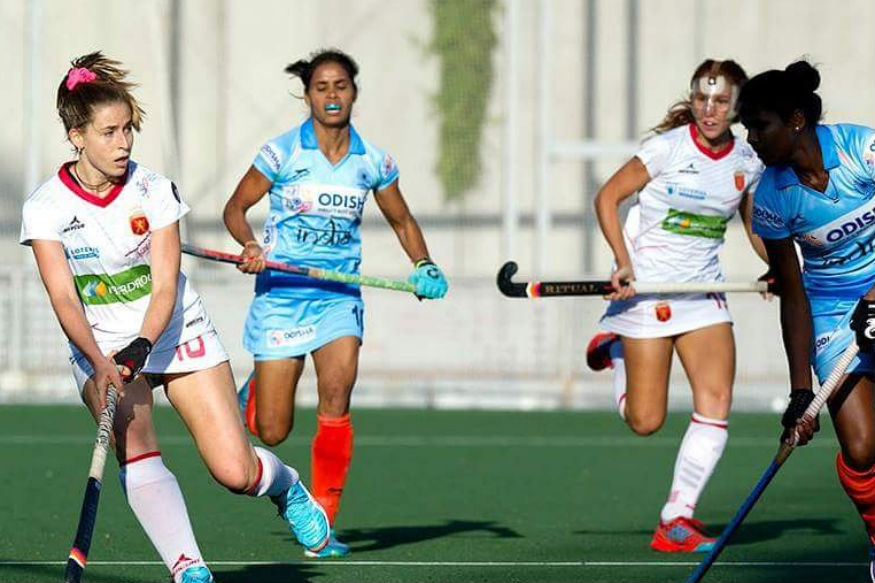 indian-womens-hockey-team-suffered-1-4-defeat-against-spain
