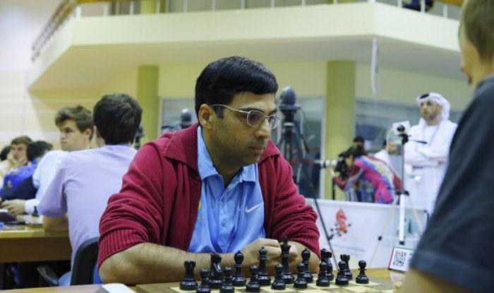 Anand wins, Harika draws in third round of IOM International Chess