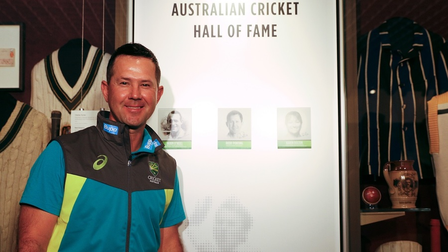 Ricky Ponting to be inducted into cricket Hall of Fame