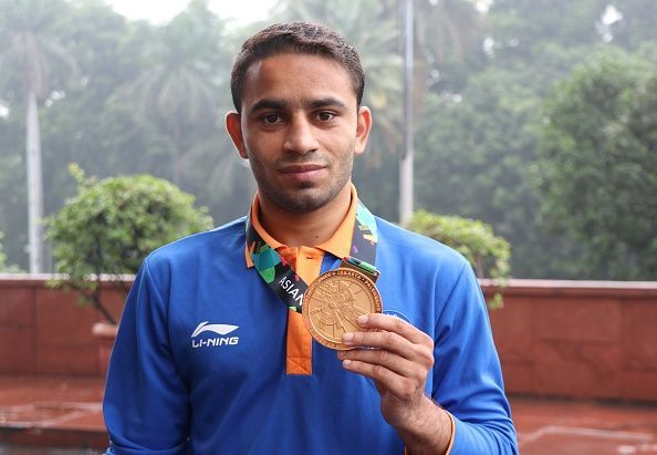 Asiad gold medalist Amit Panghal nominated for Arjuna award