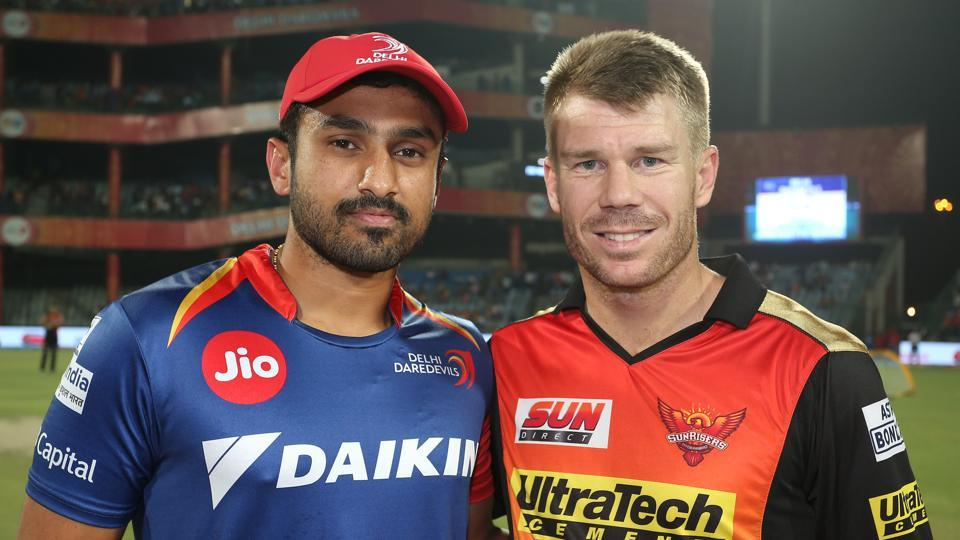 IPL 2017 :DD vs SRH: Delhi Daredevils win the toss and elect to bowl first
