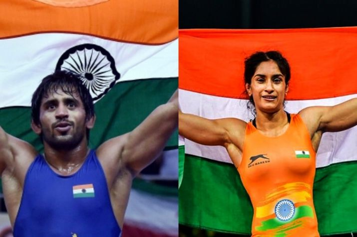 Bajrang, Vinesh nominated for Khel Ratna by wrestling federation