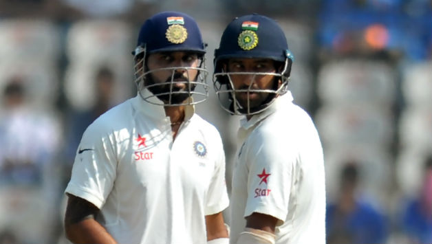 Vijay and Pujara take India to 86 for one at lunch on Day 1