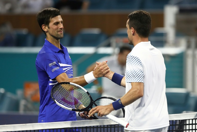 Djokovic stunned by Bautista Agut in Miami