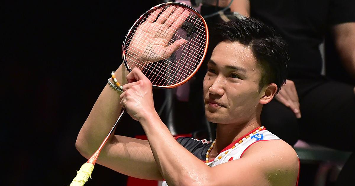 World champion shuttler Kento Momota wins China Open