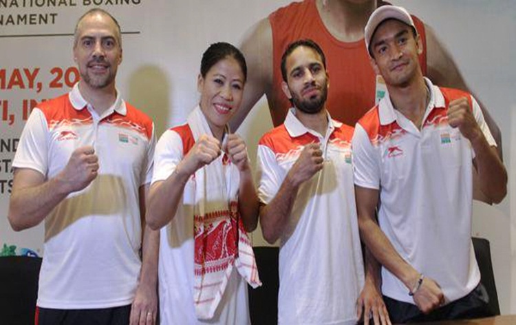 All 7 pugilists win their bouts on opening day of India Open International Boxing tournament