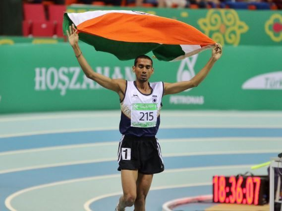 Indian athletes win four medals in 1500m races of South Asian Games