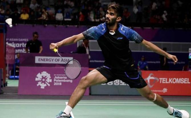 Asian Games 2018: Shuttler Srikanth suffers shocking loss