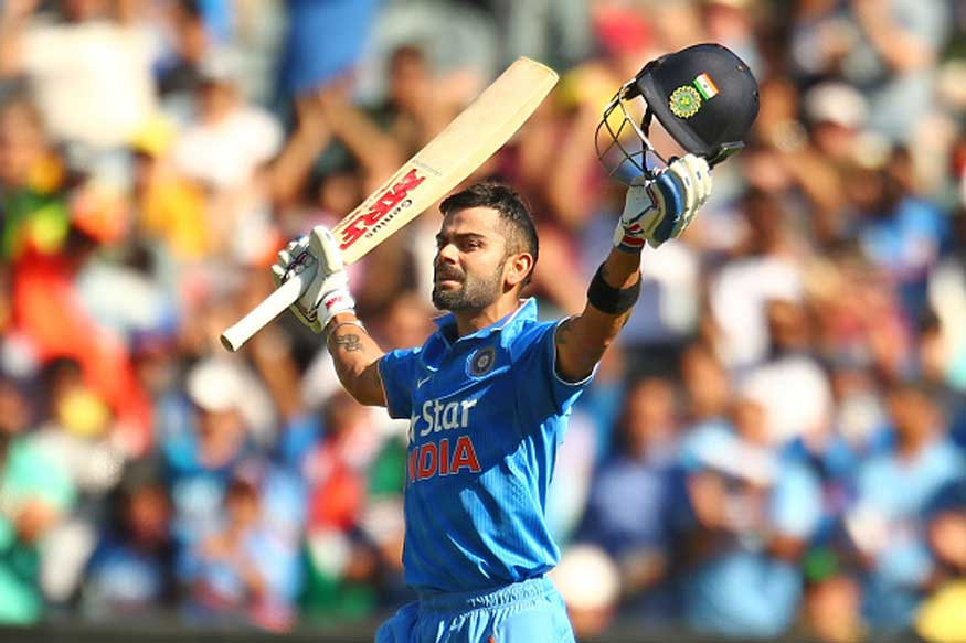 Kohli's unbeaten century helps India beat New Zealand by 7  wickets in 3rd ODI