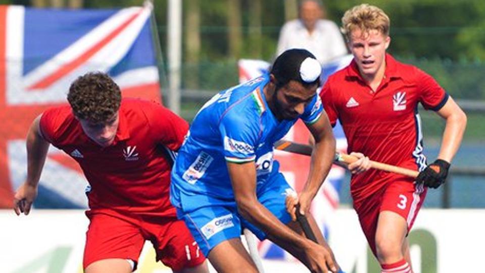 sultanofjohorcup:indianjuniorhockeyteamlosestogreatbritain