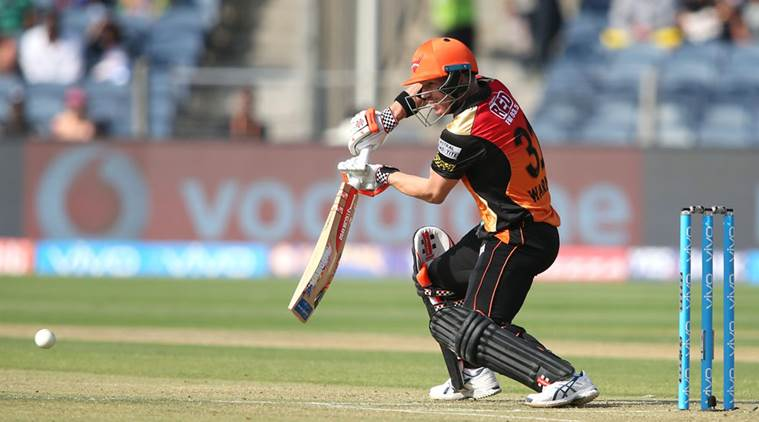 Sunrisers Hyderabad post 176/3 against Rising Pune Supergiant