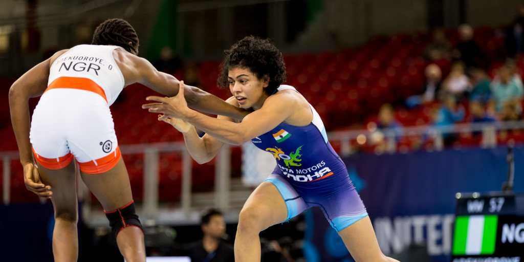Pooja Dhanda win Bronze Medal in World Wrestling Championships