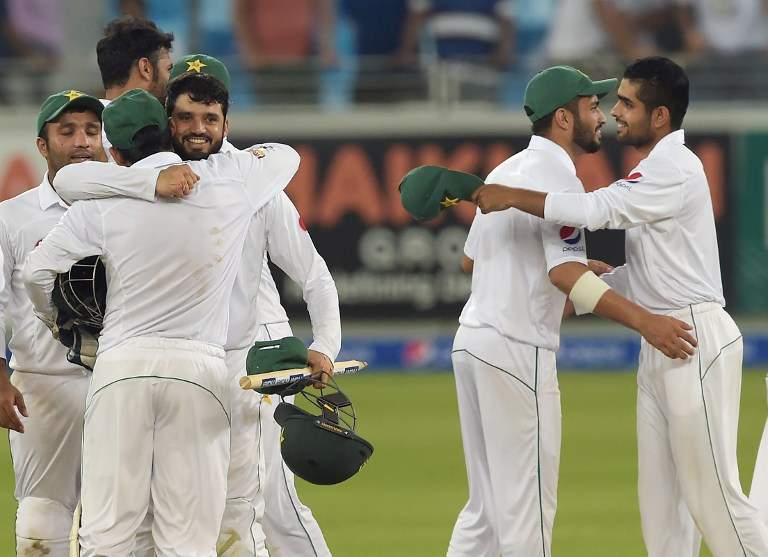 Pakistan beat West Indies in first day-night Test