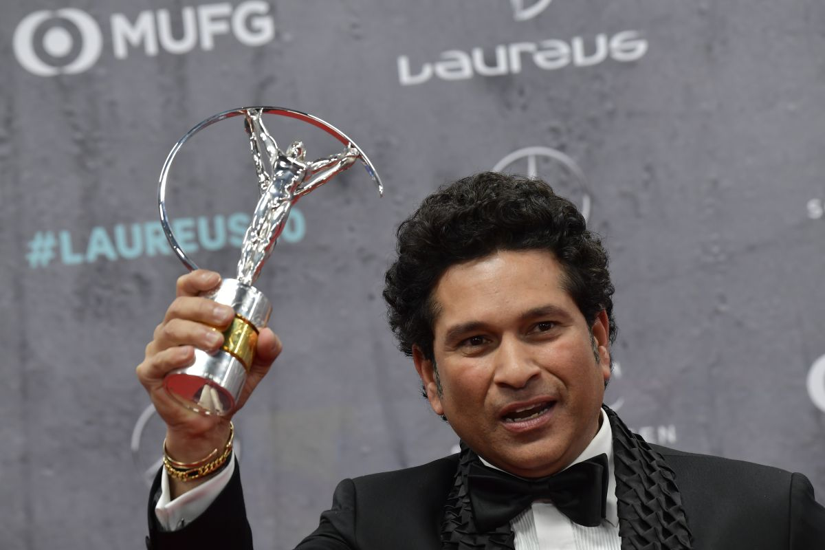 Massive Achievement of Sachin Tendulkar on Laureus Sports Awards