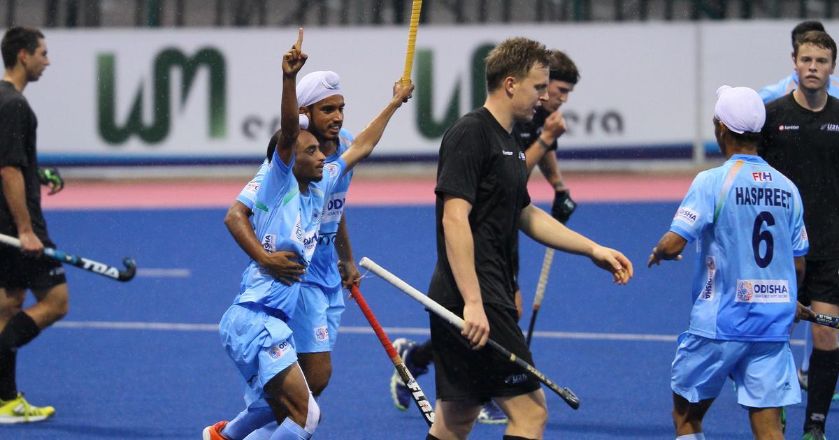India beat New Zealand 7-1 in Sultan of Johor Cup Junior Men