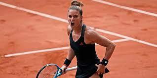 Maria Sakkari reaches into the semifinals of French Open
