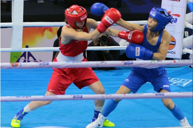 Mary Kom in quarters; Sarita bows out in Women