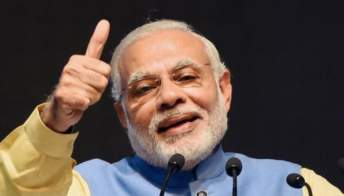 PM Narendra Modi gave his best wishes to team India