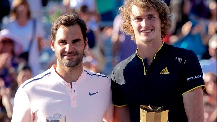 Alexander Zverev beats Roger Federer in Montreal final
