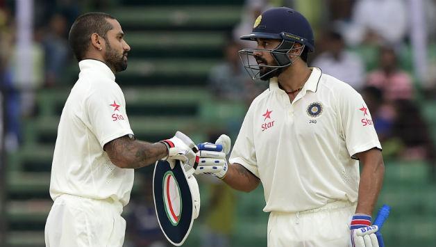 Shikhar Dhawan replaces injured Murali Vijay for Sri Lanka tour