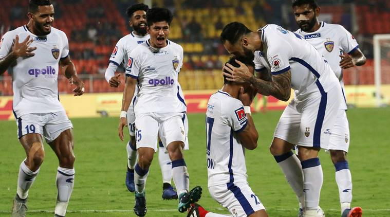 ISL: Chennaiyin beat Pune 4-2
