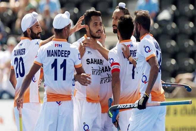 Hockey World League: India thrash Pakistan 6-1 in 5th to 8th place match