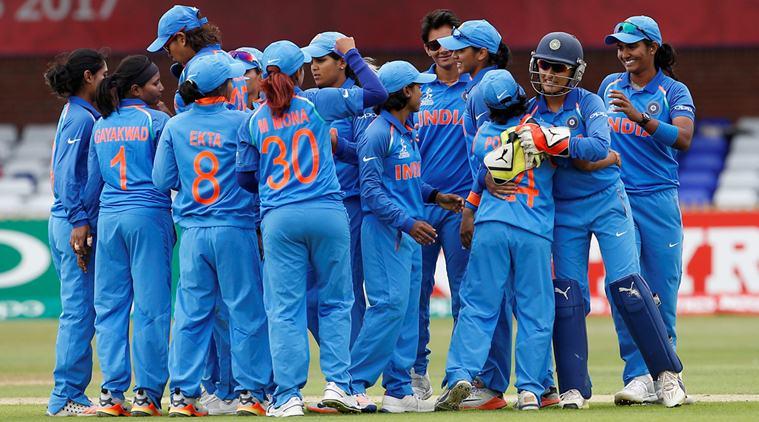 Women World Cup 2017 : Indian Women defeat New Zealand by 186 runs,enter ICC Women