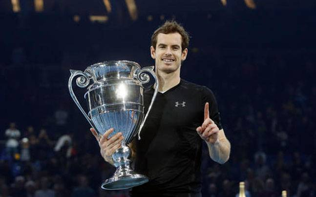Murray wins first ATP World Tour Finals