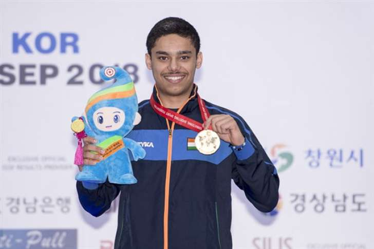 Udhayveer Singh wins individual gold in Junior Men