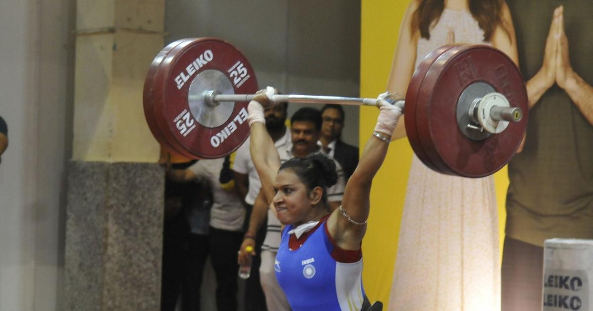 rakhihalderbagsgoldatseniorwomensnationalweightliftingchampionships