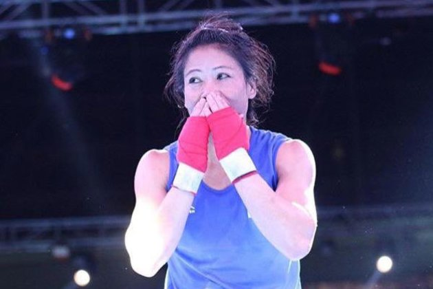 Mary Kom wins gold medal in President