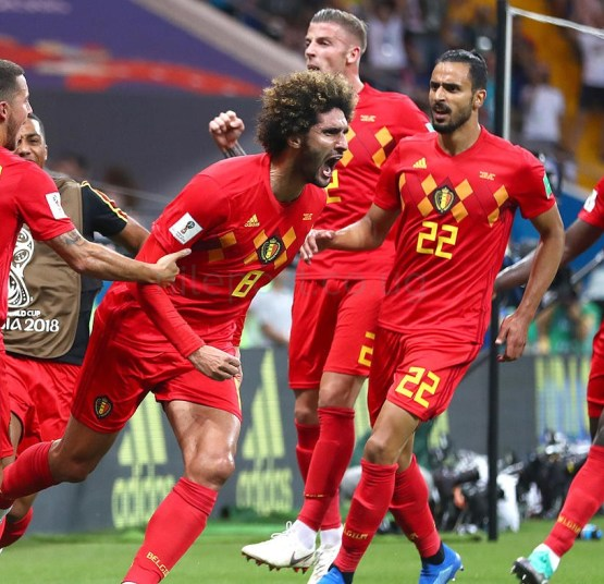 Belgium to end the year as No.1 in FIFA global rankings
