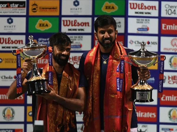 Chennai Open: Rohan Bopanna and Jeevan Nedunchezhiyan lift men