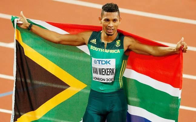 Wayde Van Niekerk retains men