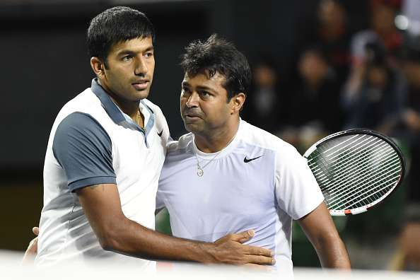 Paes and Bopanna to face each other in men